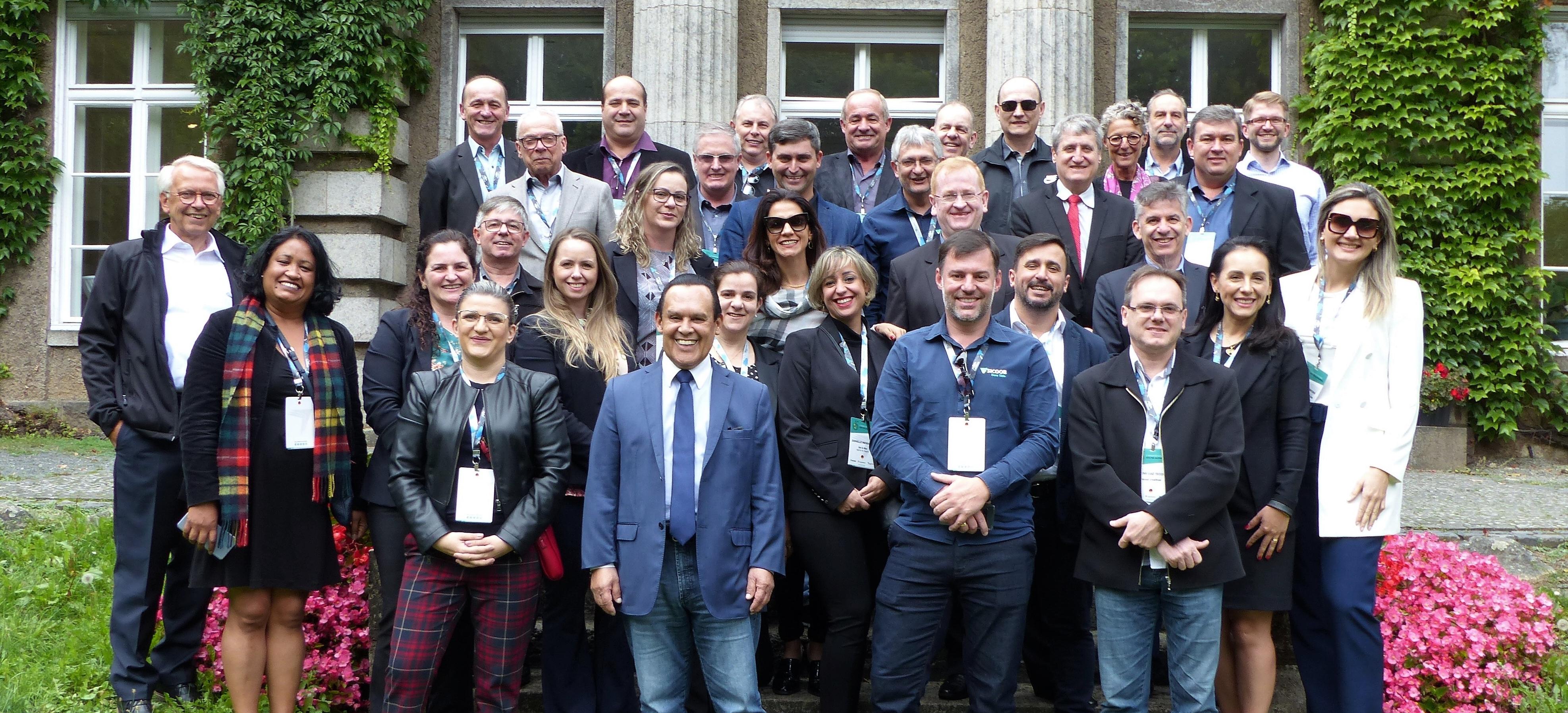 Brasilianische Delegation zu Besuch