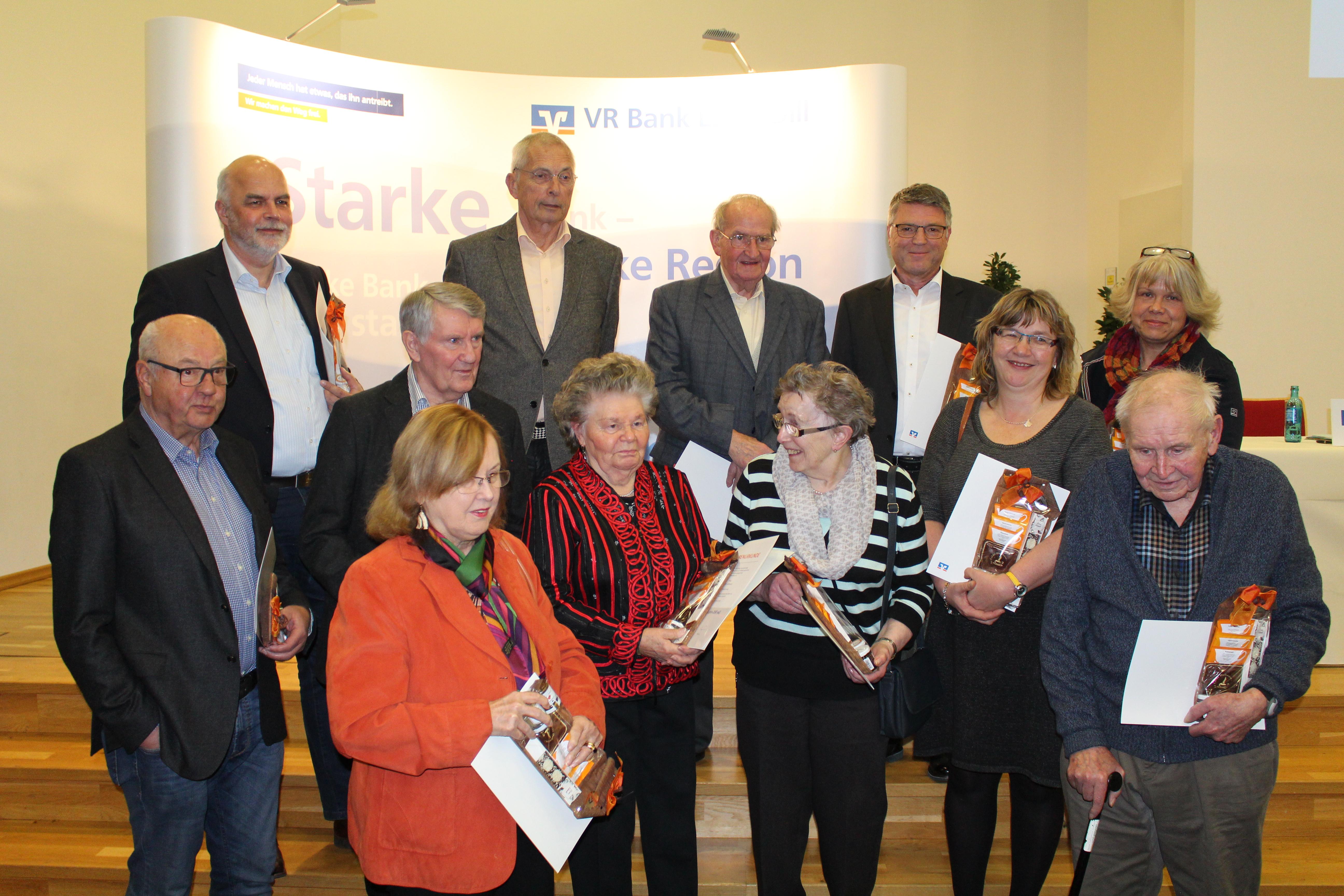 Mitgliederehrung in Dillenburg