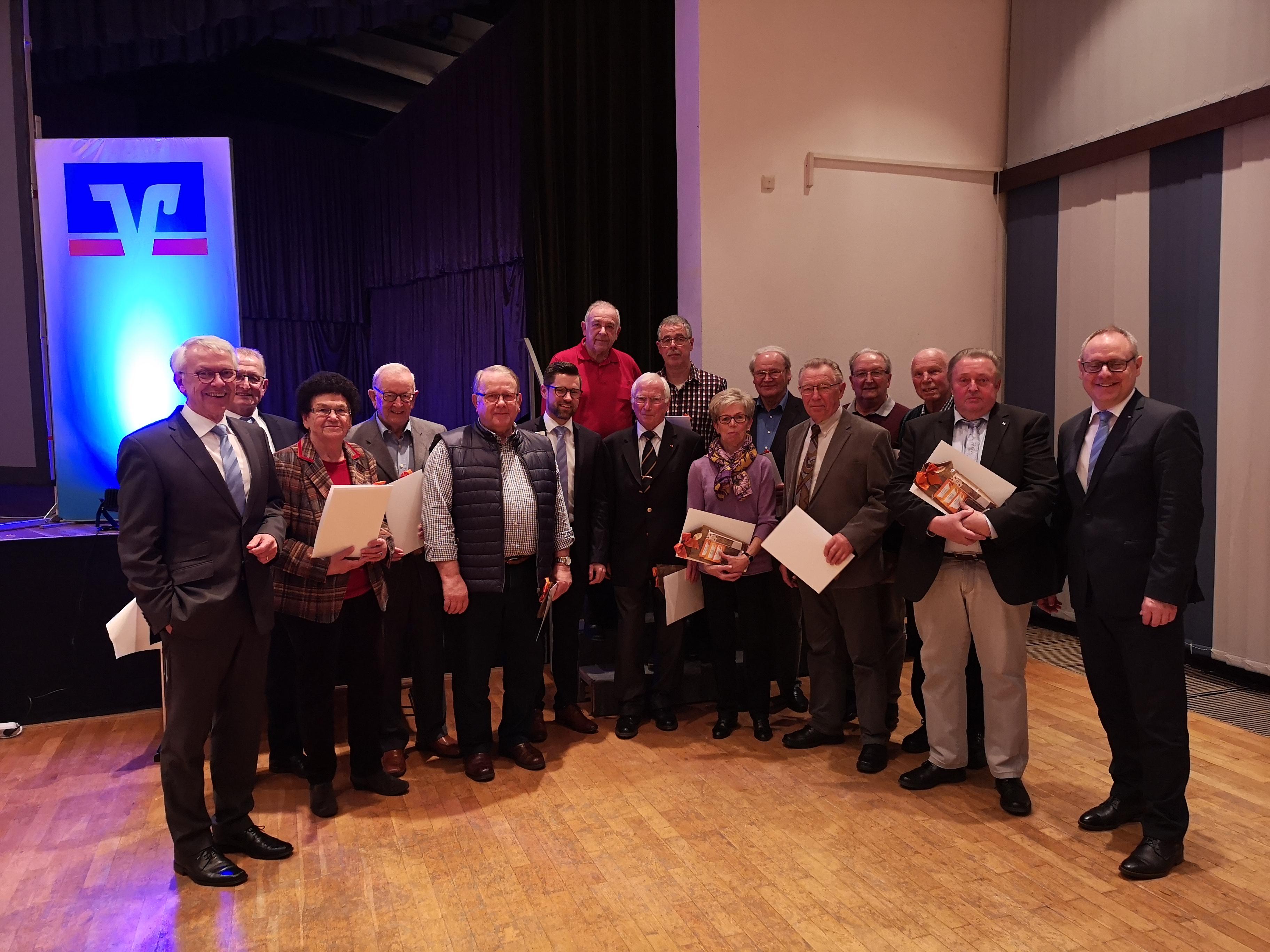 Mitgliederehrung in Gladenbach