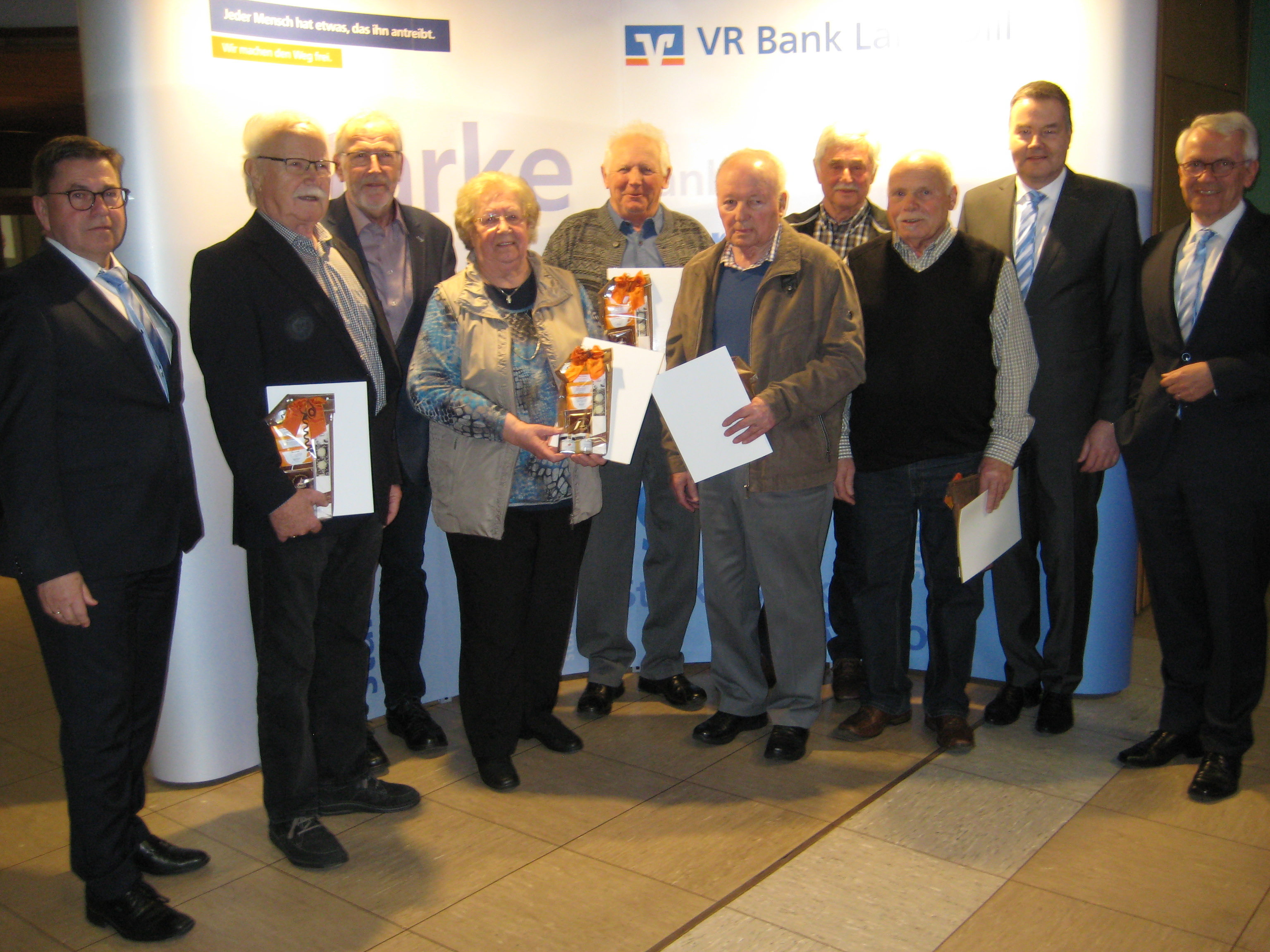 Mitgliederehrung in Wallau