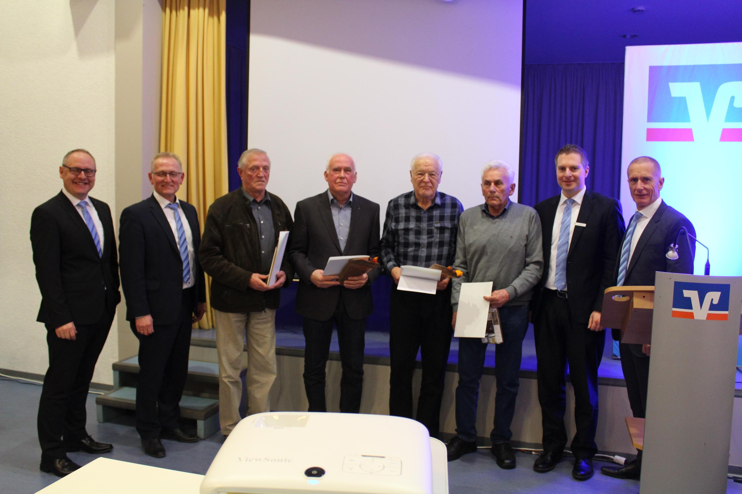 Mitgliederehrung in Breidenbach