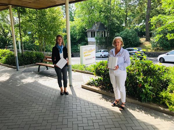 DRK Pflegezentrum Herborn, Übergabe an Frau Ute Teich