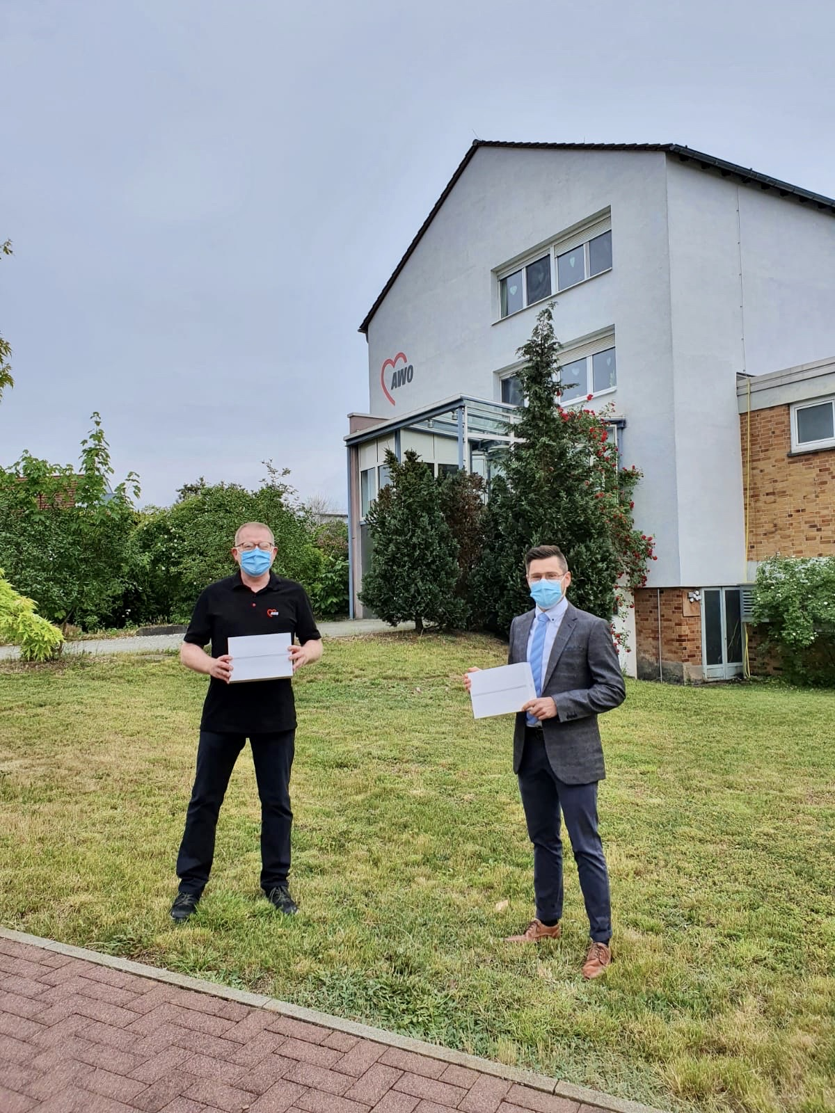AWO Pflegezentrum Gladenbach, Übergabe an Herrn Ulrich Gerhard