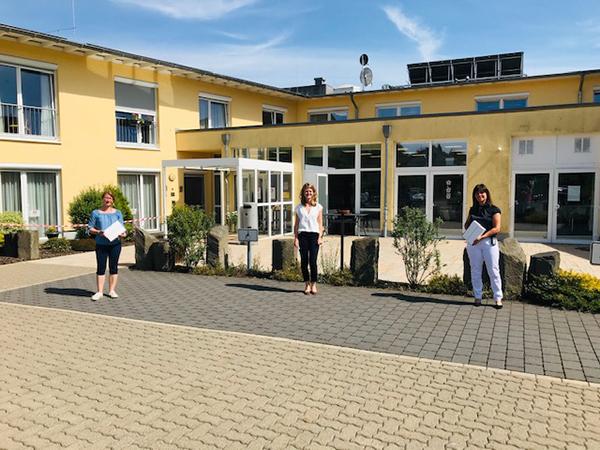 Haus des Lebens Driedorf, Übergabe an  Frau Simone Funk und Frau Lena Boss