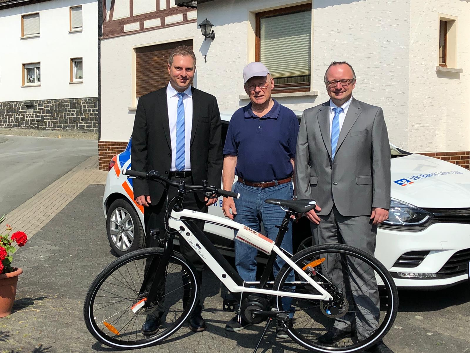v.l.n.r. Thomas Busch, Horst Grebe, Steven Acker